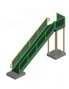 3D STAIR AND RAIL