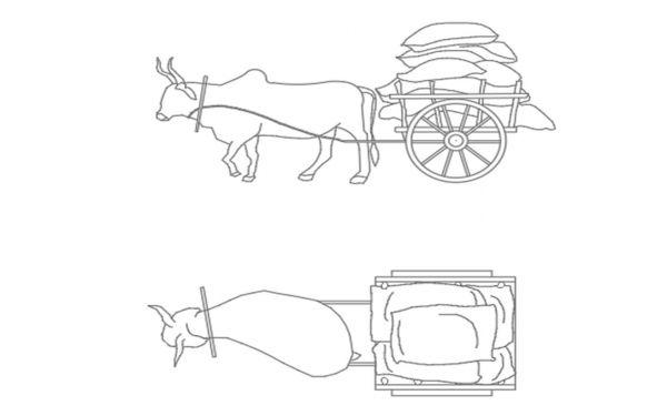carrinho de boi