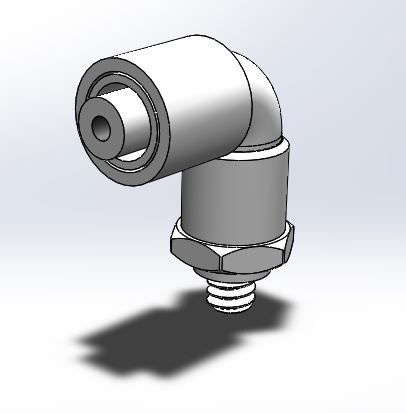 Elbow Connector Solidworks File