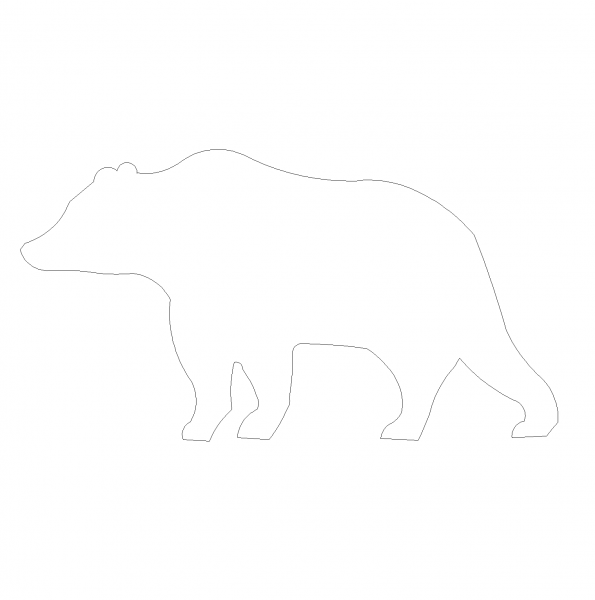 Bear Höhe CAD dwg Block