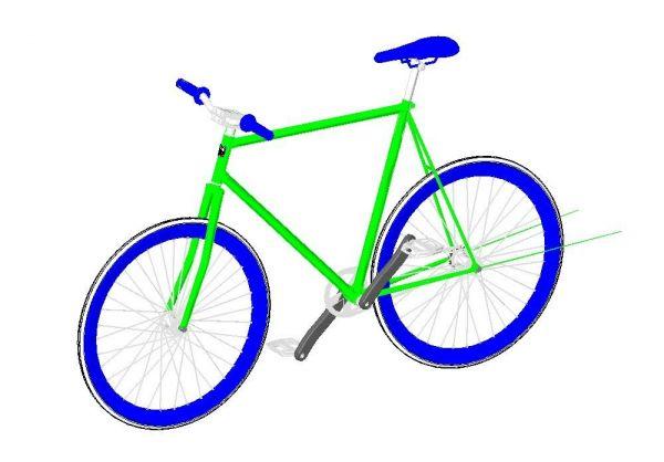 Bicycle Revit Family 3
