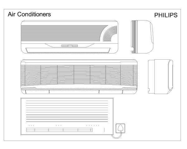 Symbole der Klimaanlage_1 .dwg