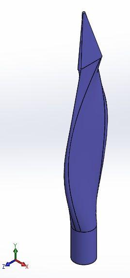 Blade sldprt Model
