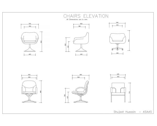 Chairs Elevation-001
