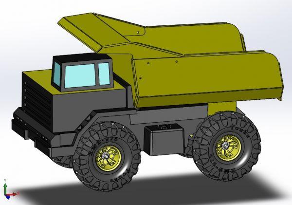 Dumb truck sldasm Model