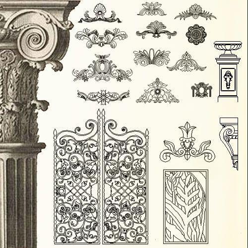 Diseño interior Bloques en 2D haz