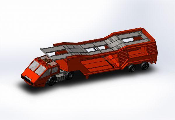 Toy Truck Sldasm Modell