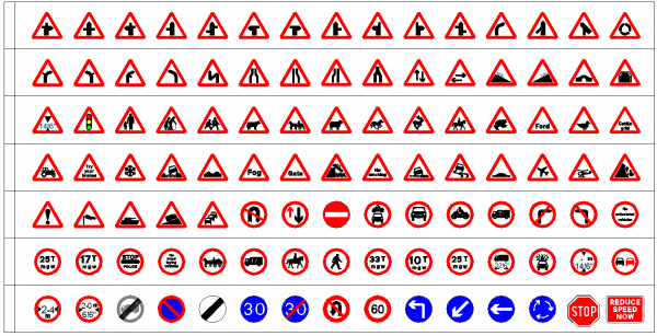 UK Road Signs (Paid Collection1)