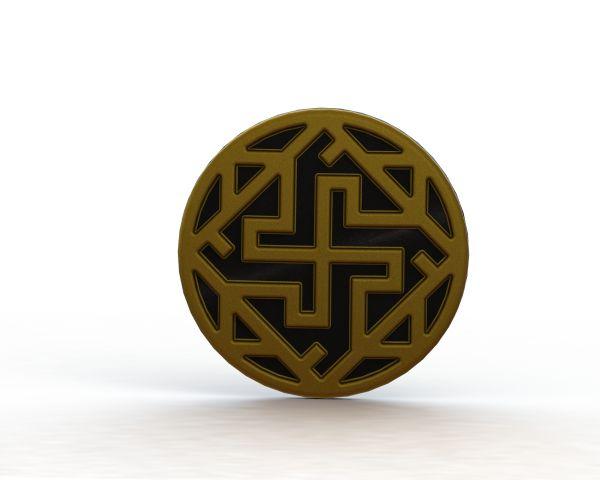 Walküre-Medaille sldprt Modell