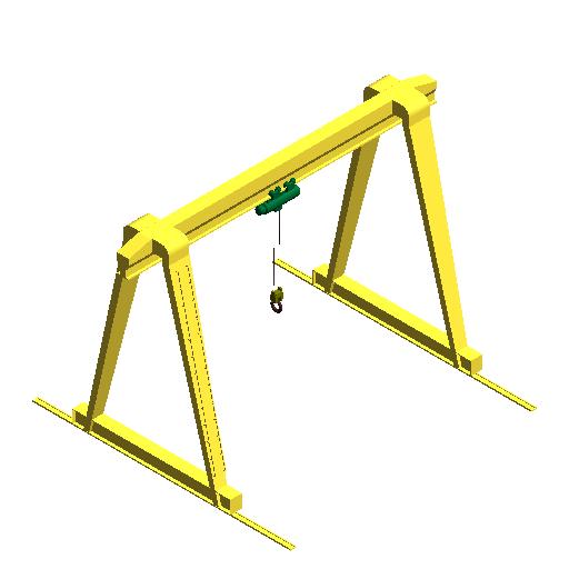 Gantry crane-from revit family