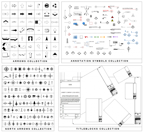 CAD Collections library volume 1
