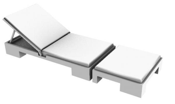 沙滩椅3D模型.3dm格式
