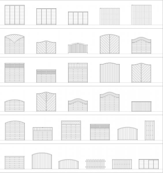 Architectural design CAD collections Volume 2