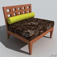 Классический диван кресло 19