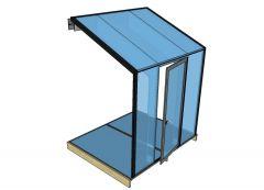 Modello Architectural Glass Box Sketchup