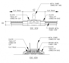 Bird Jolt Flat Track CAD block