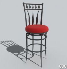 Sedia classica per sgabelli 30