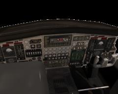 Aeroplane Cockpit 3ds max model