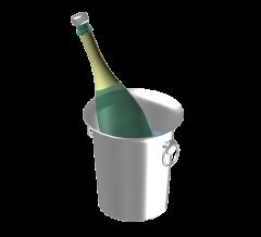 Champagner in Eimer Max Modell