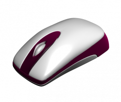 Wireless Mouse 3ds max model