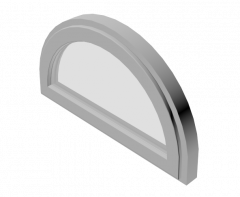 Arched window 3ds max model