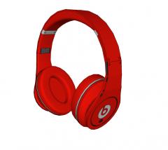 Auriculares inalámbricos sobre la oreja Beats Studio modelo Sketchup