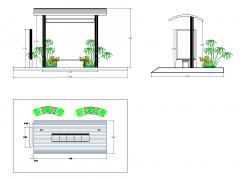 Bus Shelter Design dwg