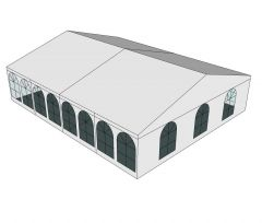 Party tent Sketchup model