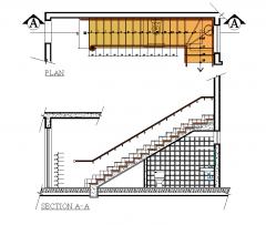 Treppe Details 2d dwg