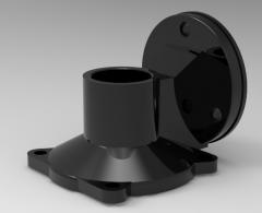 3 & 5 Axis CNC Machinable 3D CAD Model 100