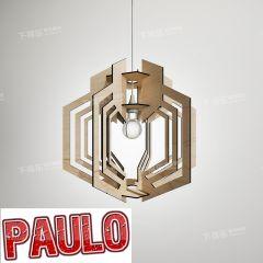 Декор потолочного светильника 3ds max