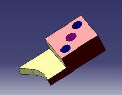 1010 Profile pad  CAD Model dwg. drawing