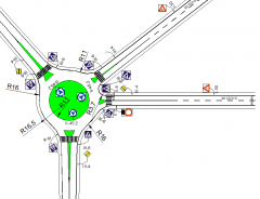 Roundabout dwg