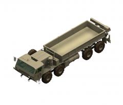 Hemtt truck 3ds max model