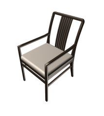Dining room chair 3DS Max model