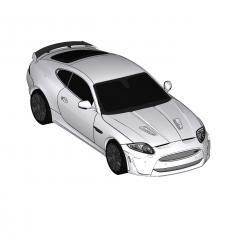Jaguar XKRS Sketchup-Modell