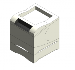Impresora láser modelo Revit