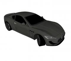 Modelo de Sketchup Maserati GranTurismo