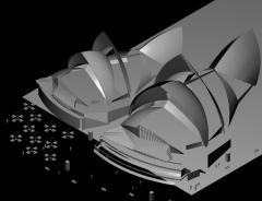 Сиднейский оперный театр 3DS Max