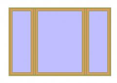 Glass Window Revit Family 13