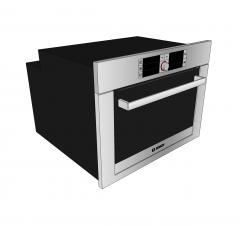 Bosch oven Sketchup model