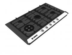 Bosch cooktop Sketchup model