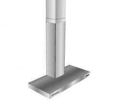 Bosch cooker hood Sketchup model