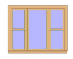 Glass Window Revit Family 14