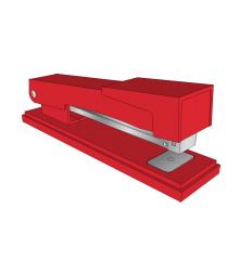 Stapler Sketchup model