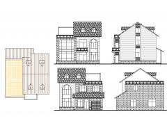 三层楼高的房子设计