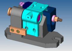 1091 Fräsvorrichtung CAD Modell dwg. Zeichnung