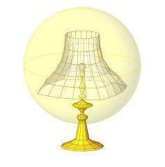 Table Lamp Revit Family 3