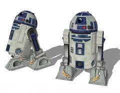 Bloco de esboço Starwars R2D2