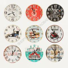 Orologi da parete decorativi 3ds max